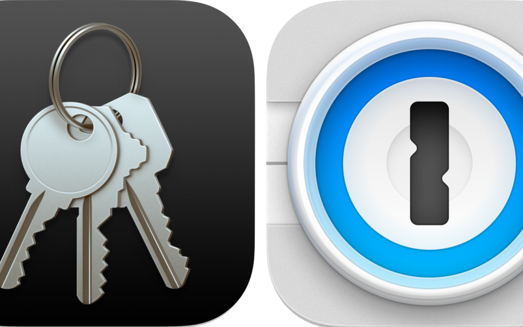 Keychain and 1Password Icons