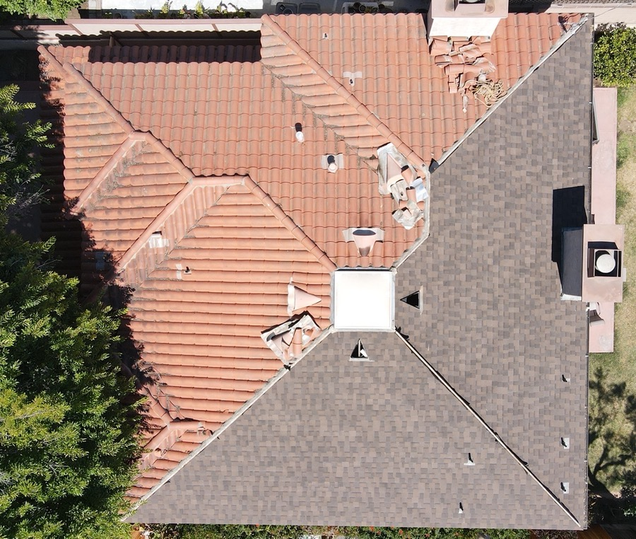 03 Shingles Installed West