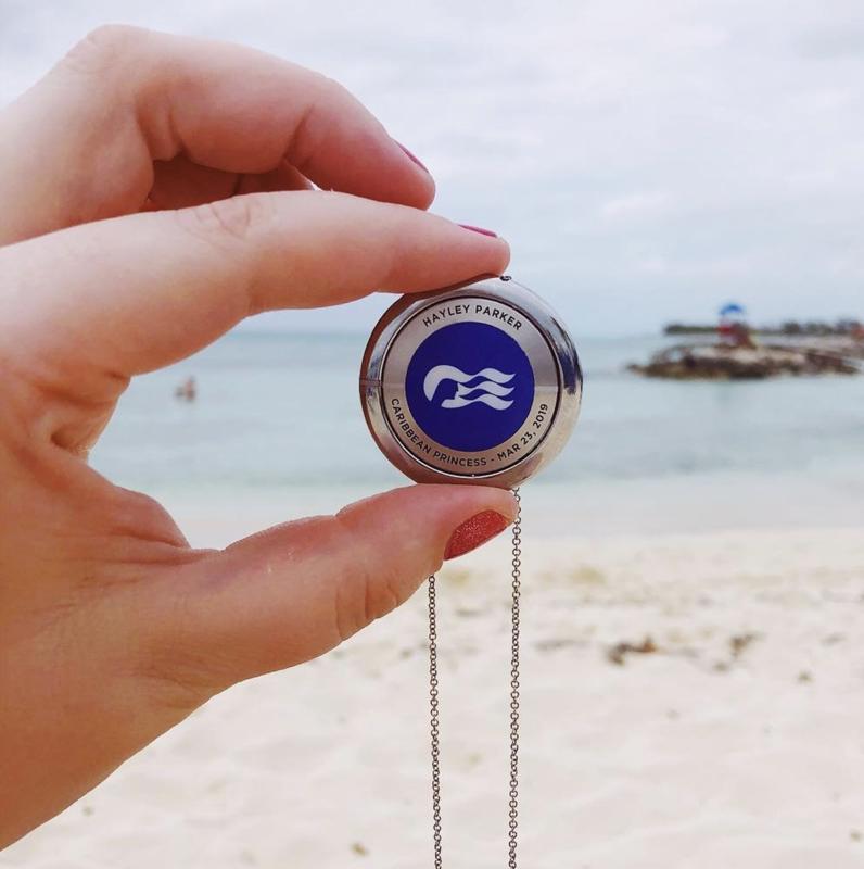 MedallionClass medallion on beach