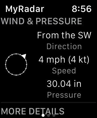 My Radar Watch App