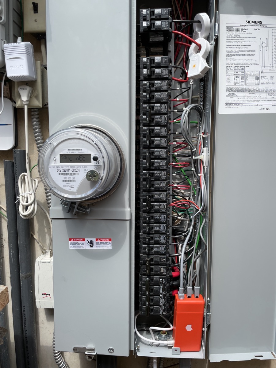 Sense Solar Clips and Monitor