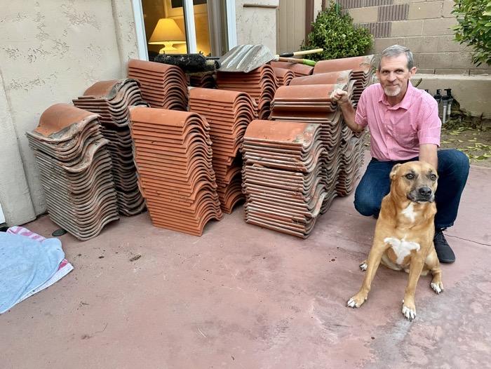 Steve Tesla with Spanish Roof Tiles
