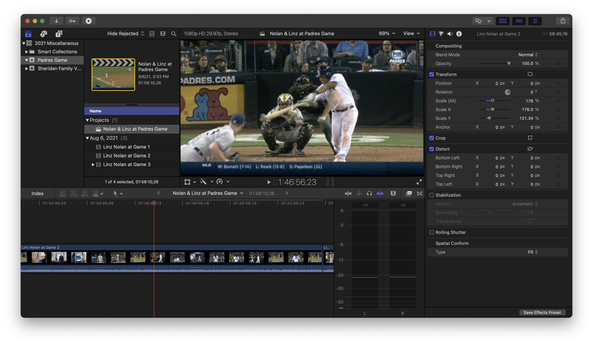 Video from TiVo Playing in Final Cut Pro