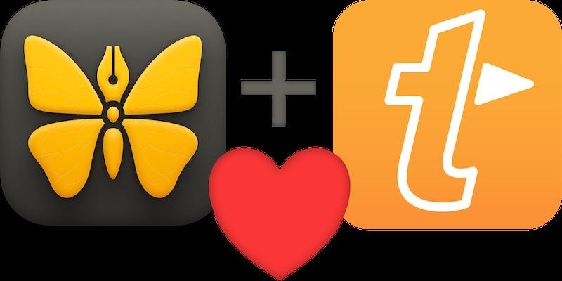 Ulysses + TextExpander = Love