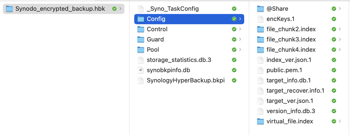 Backup Glop from Synology on Dropbox