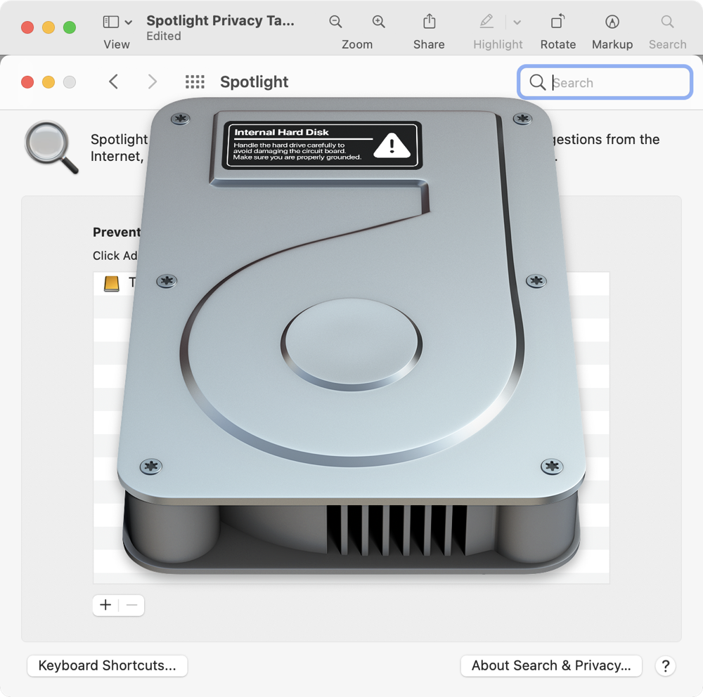 Drive PNG Pasted onto Preferences