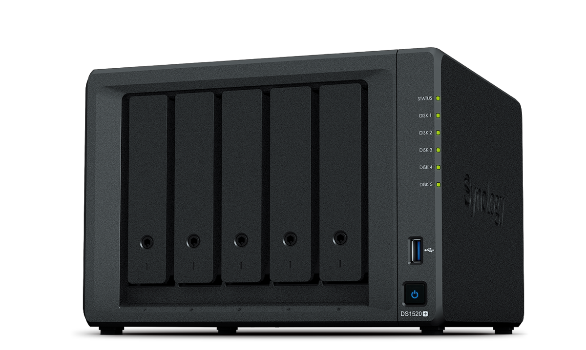 Synology 5-Bay DS1520+