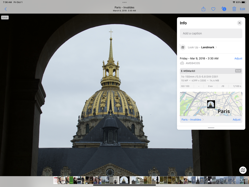 Add Geotag to Images in Photos